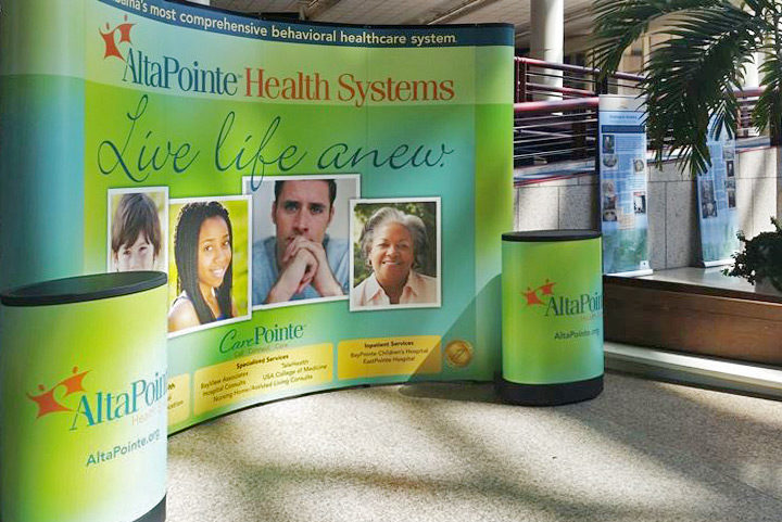 AltaPointe Health Tradeshow Display