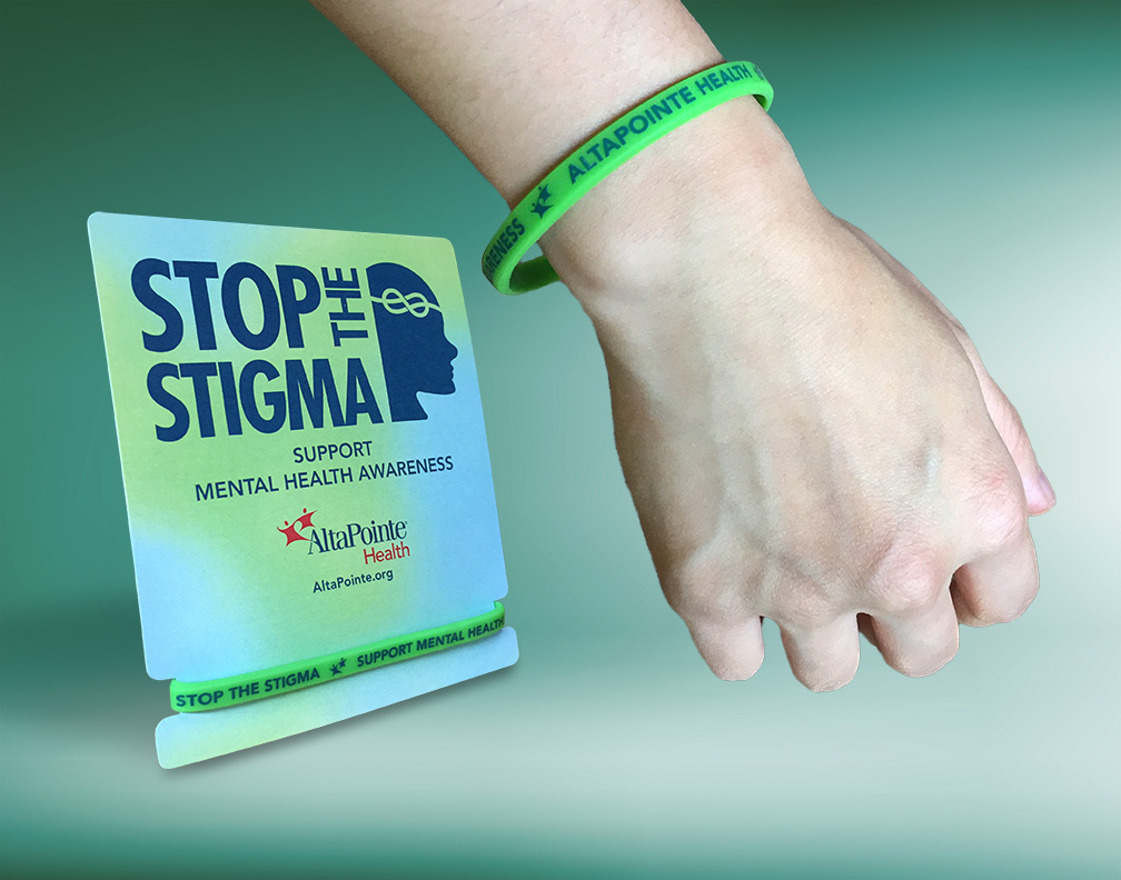 AltaPointe Health MHFA Wrist Band