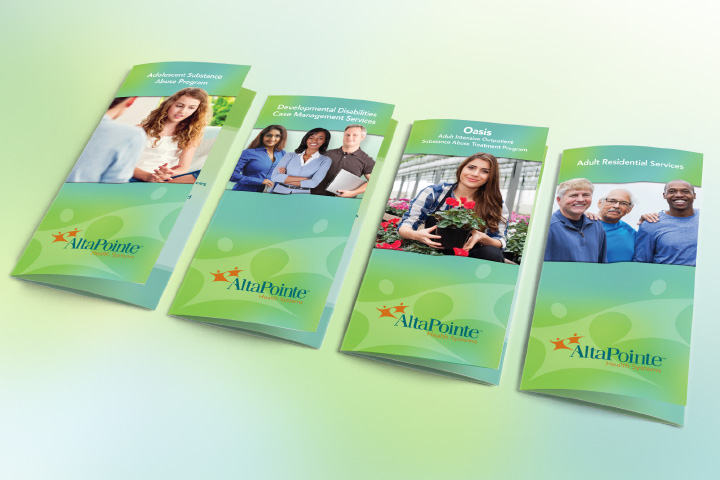 AltaPointe Health services brochures