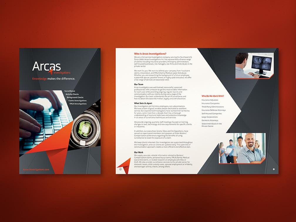 Arcas Investigations Brochure