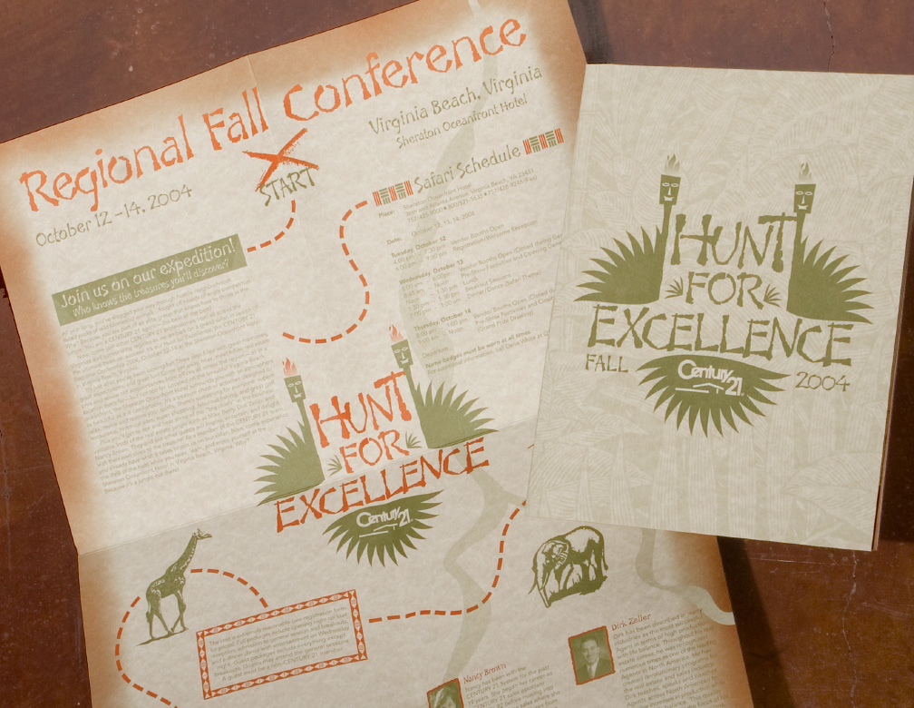 Century 21 Conference Mailer - Hunt for Excellence
