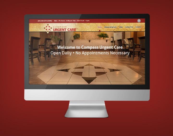 Compass Urgent Care Website
