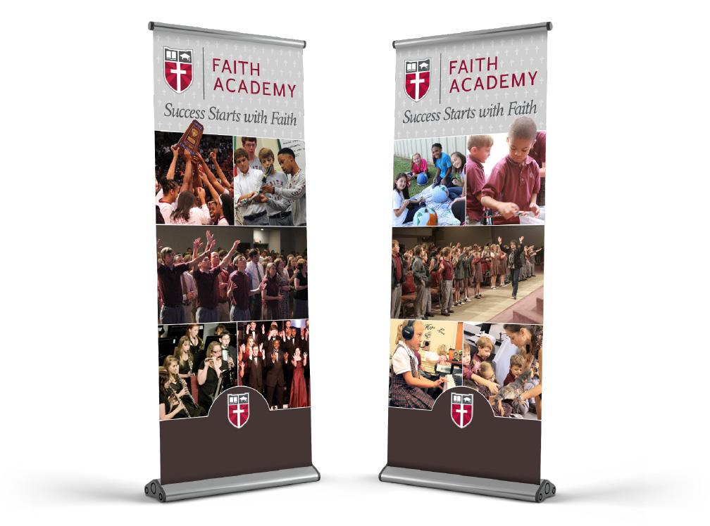 Faith Academy Displays