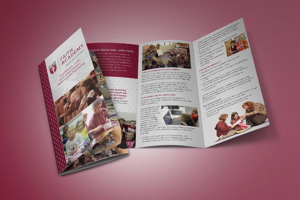 Faith Academy Elementary Brochure