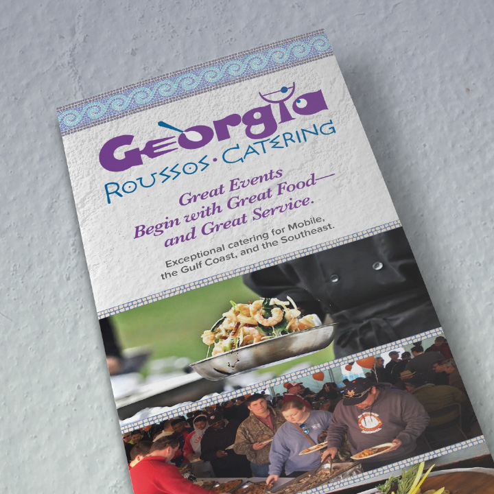 Georgia Roussos Catering Brochure