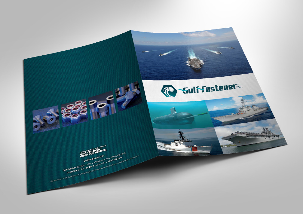 Gulf Fastener Presentation Folder