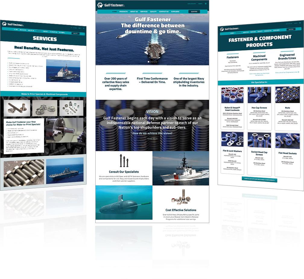 Gulf Fastener Website