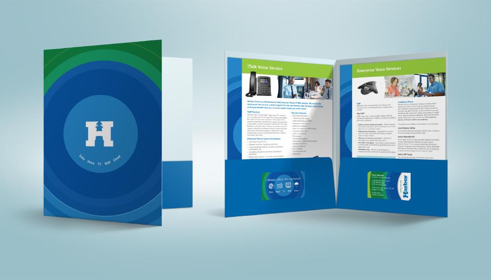 Harbor Communcations Presentation Folder