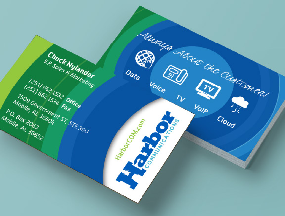 Harbor Communications Business Card