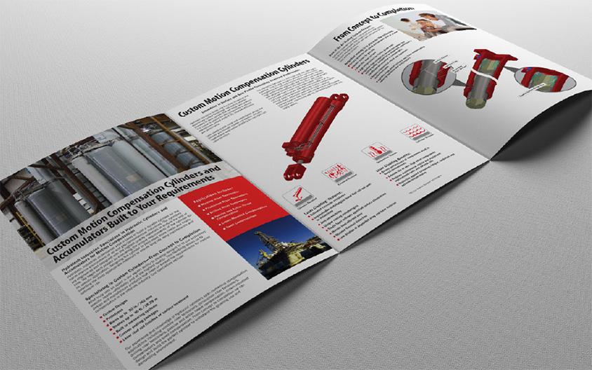 HydraTech Fluid Power Brochure Spread