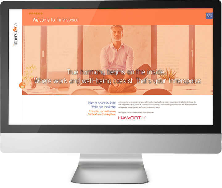 Innerspaice Your Culture, Your Brand Web Page