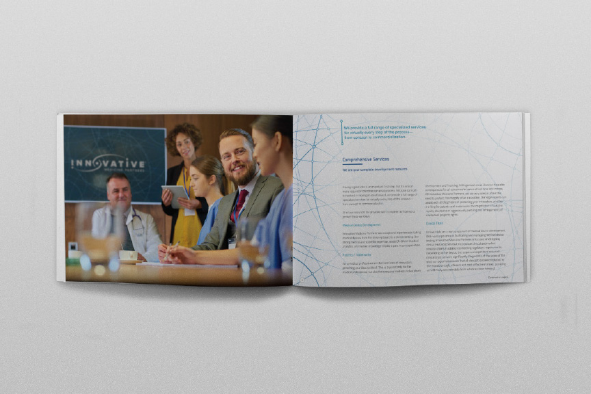 Innovative Medicine Partners Brochure Spread