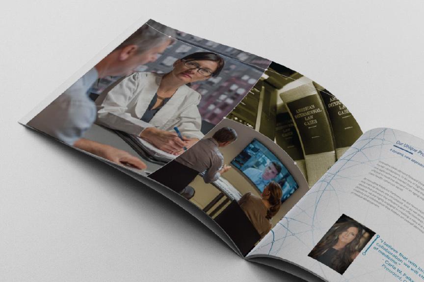 Innovative Medicine Partners Brochure closeup