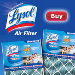 Lysol® Air Filters web banner