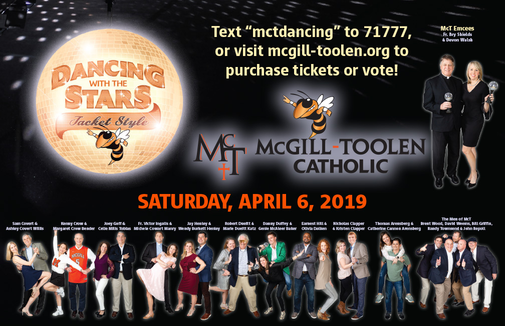 McGill-Toolen Dancing with the Stars Poster