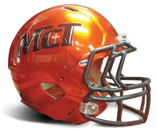 McT Football Helmet