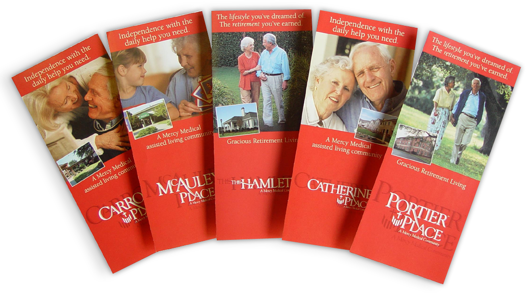Mercy Medical Facility Brochures