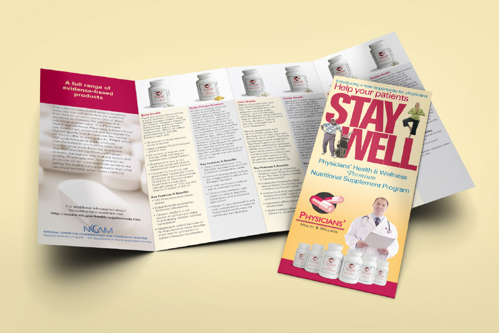 Physicians Health and Wellness Brochure