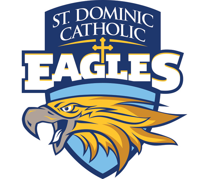 St. Dominic Eagles Sports Logo