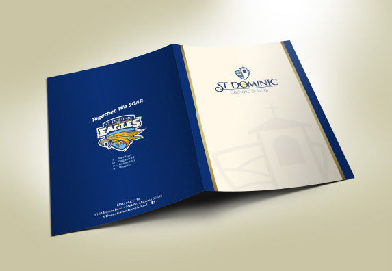 St. Dominic Presentation Folder