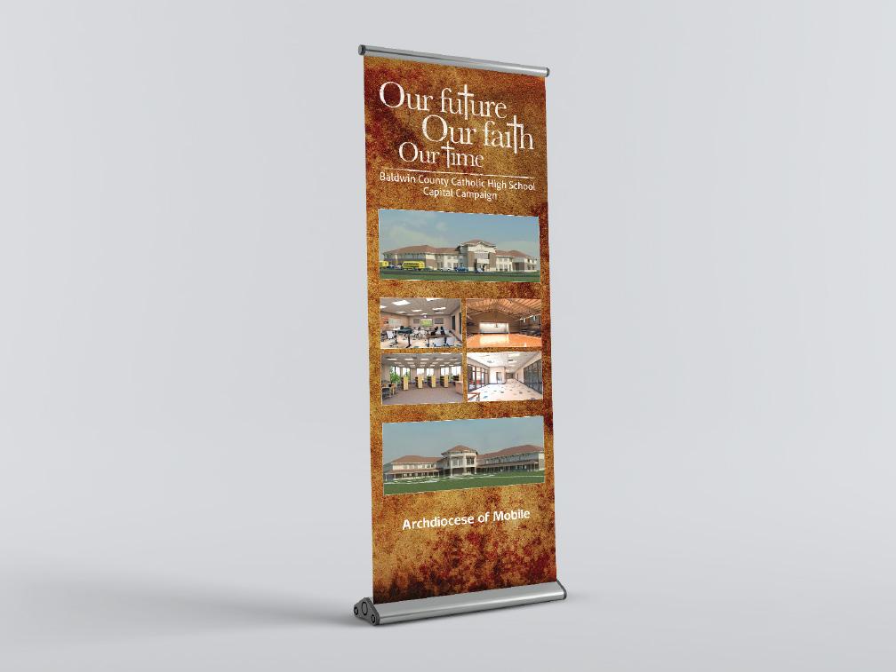 St. Michael Catholic High School Display