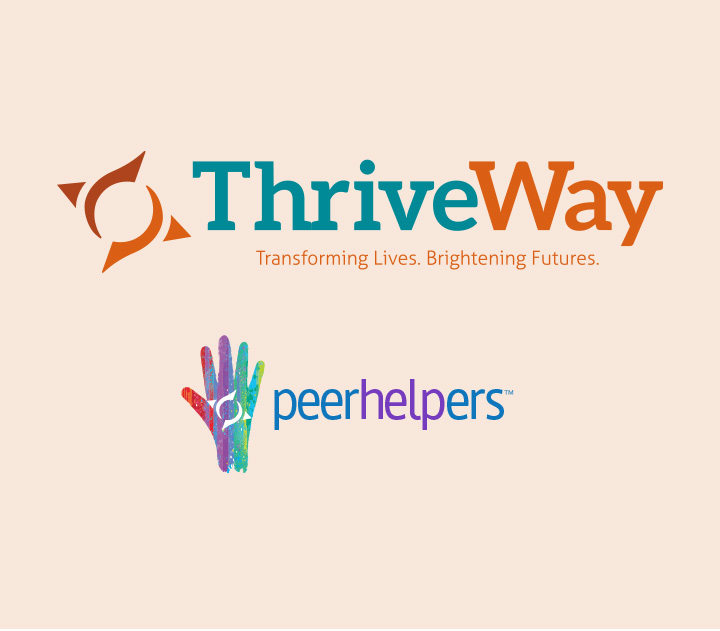 Thriveway & Peerhelpers Logos