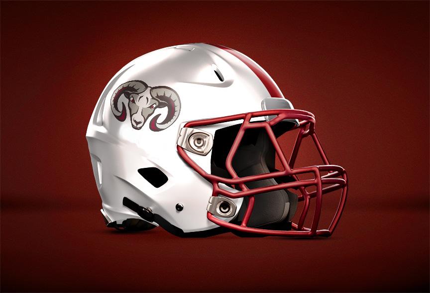 Faith Academy Football Helmet