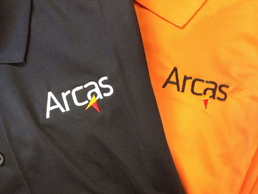 Arcas Investigations polo shirts