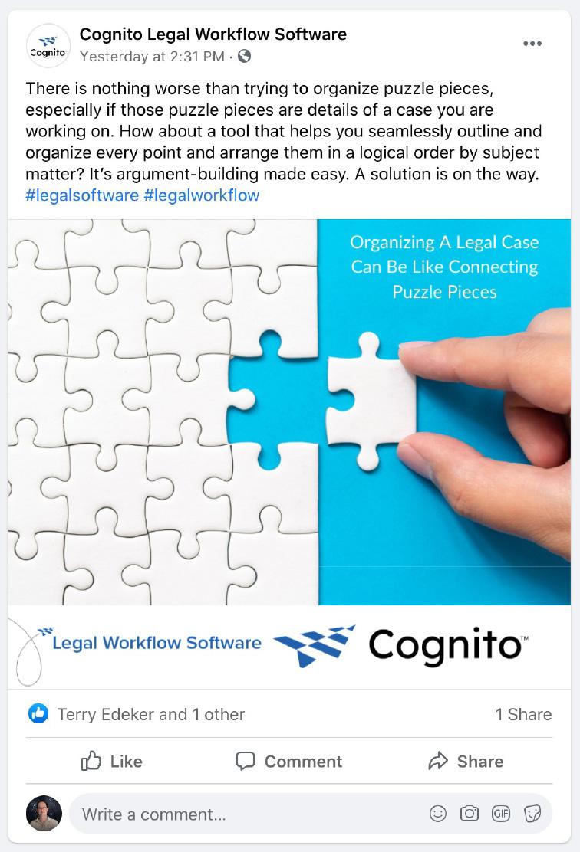 Cognito Post - Organize